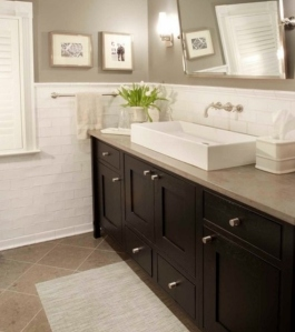 Style of bathroom we like for second bathroom
