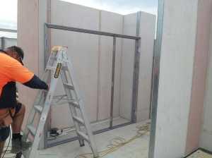 Linen cupboard install