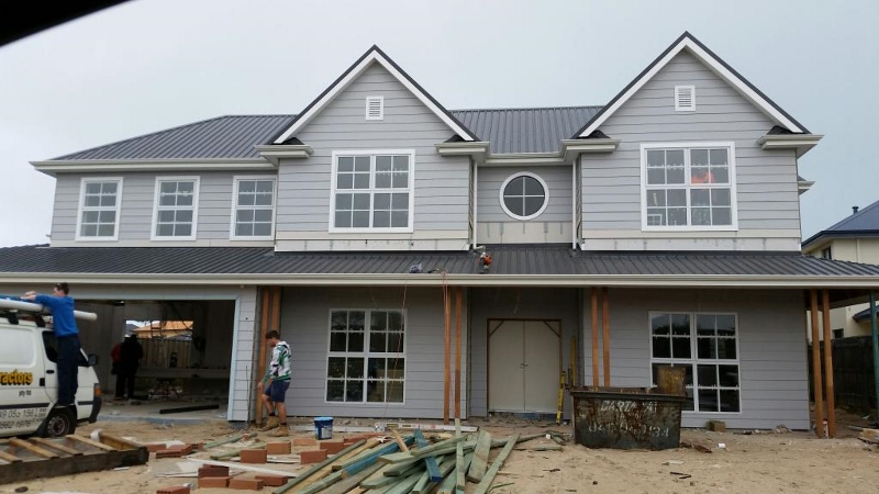 Weatherboard house building a coastal home for Home outer colour images