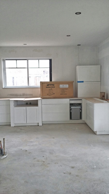 preliminary kitchen cabinets shaker profile