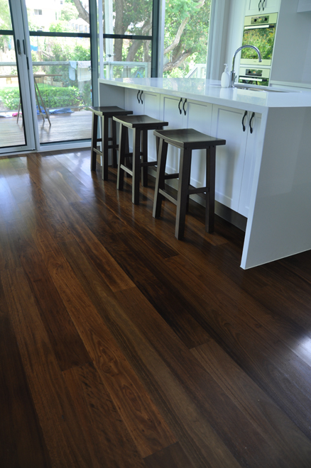 Roasted Peat timber flooring