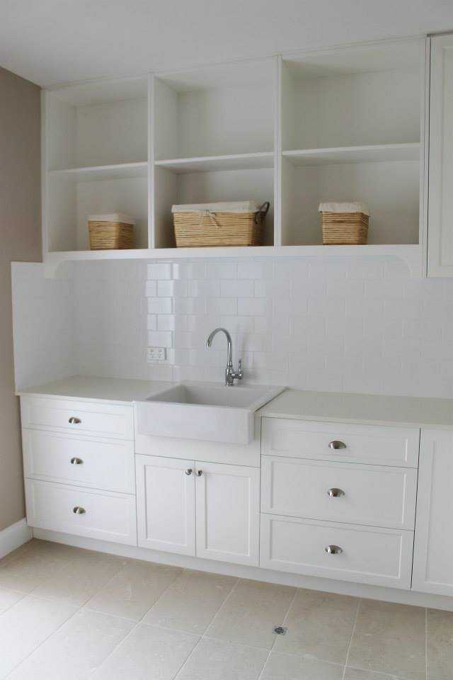 laundry shelving