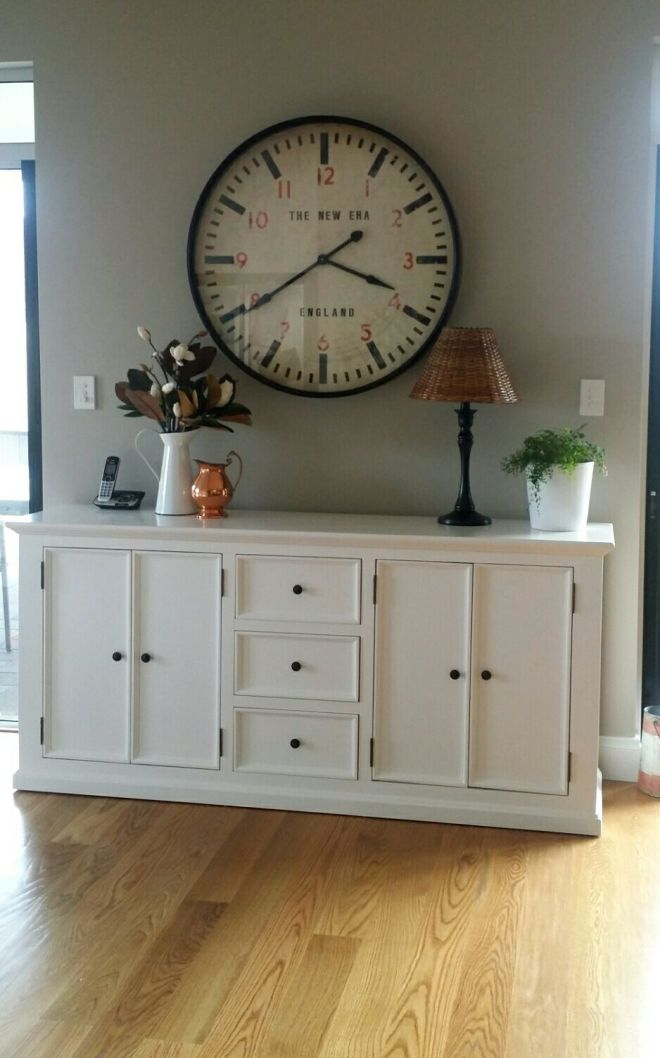 Kitchen Buffet - clock from Freedom furniture